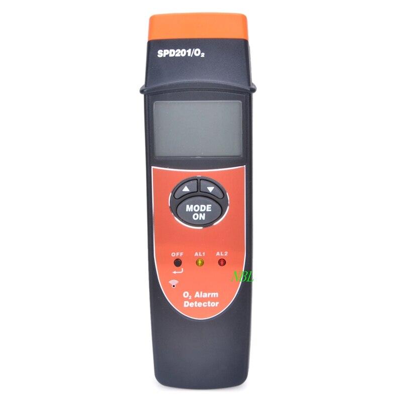 Professional Oxygen O2 Detector Oxygen Content Tester Imported Oxygen Sensor Acousto-optic Alarming LCD Backlight 0~25% VOL spd201 o2 digital 1 7 lcd oxygen tester black orange 3 x aaa