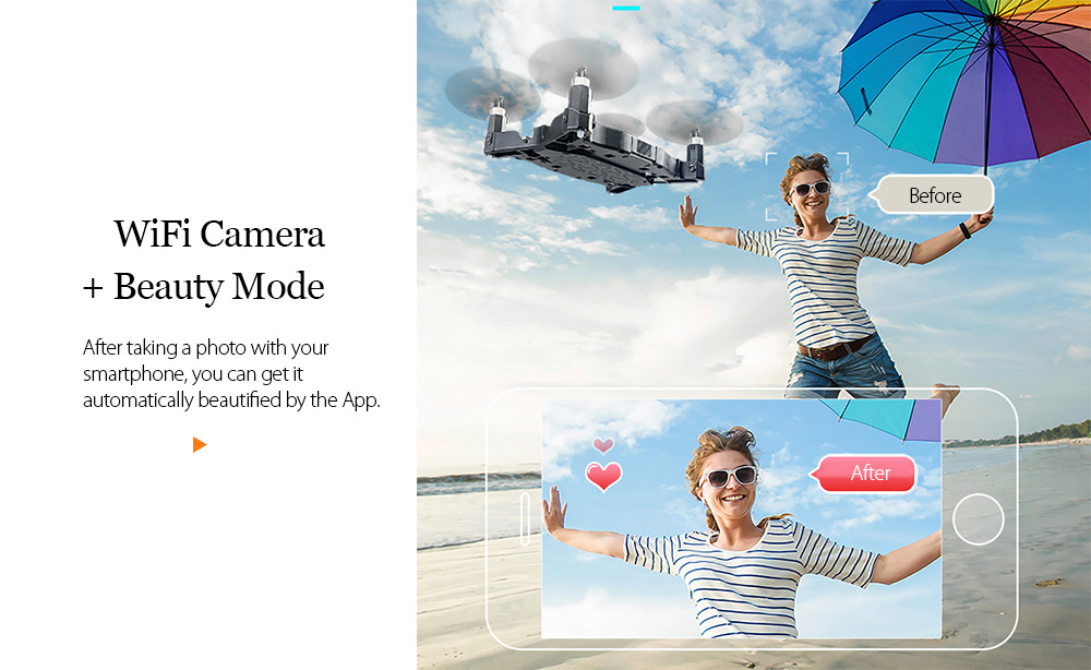 JJRC JJRC H49 RC Drone SOL Ultrathin Wifi FPV Selfie Drone (1)