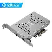 ORICO Desktop Disk Array Card PCI E M.2 SSD Stainless Steel High speed Raid Hard Drive Expansion Card Raid Controller