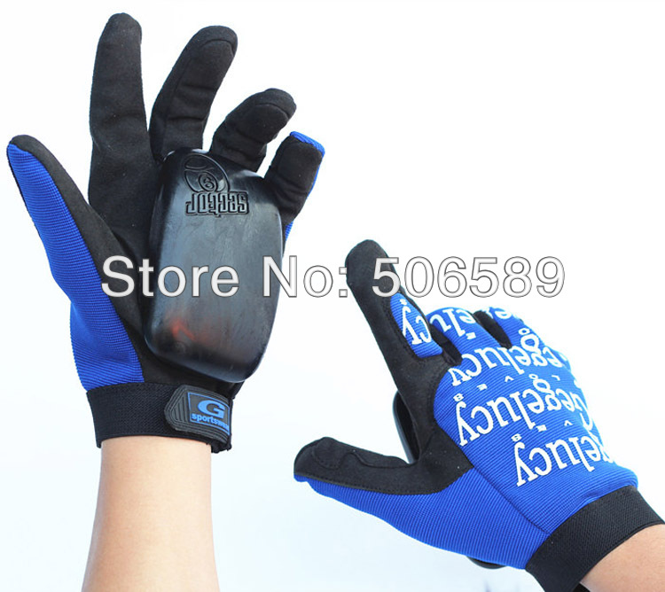 free shipping skateboard gloves long board gloves L XL XXL