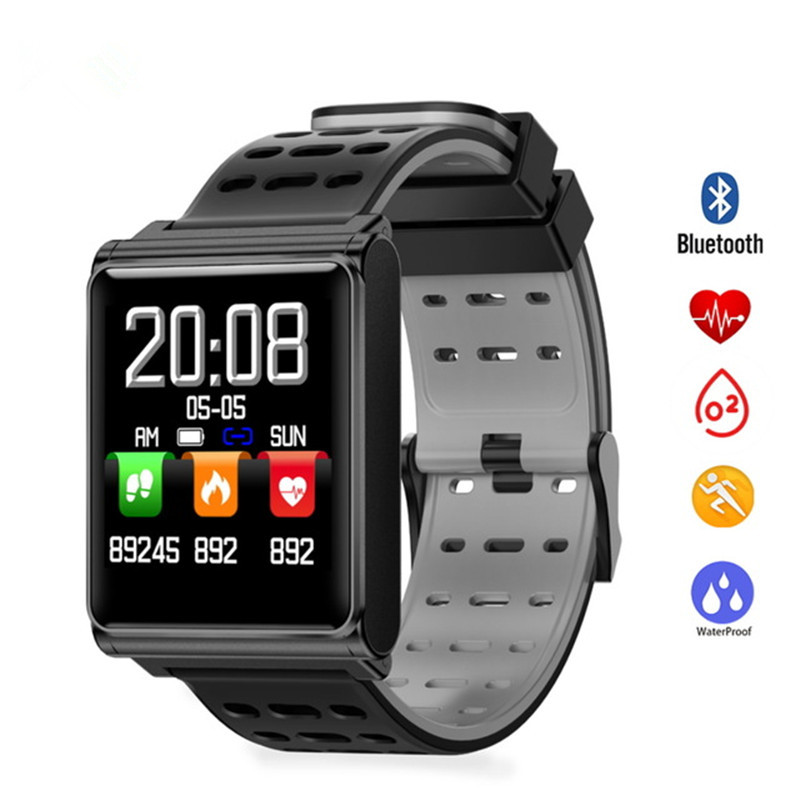 Smart Wristband Waterproof Bracelet Heart Rate Monitor SmartBand Blood Pedometer Activity Tracker Sleep Monitor Smart Watch цена