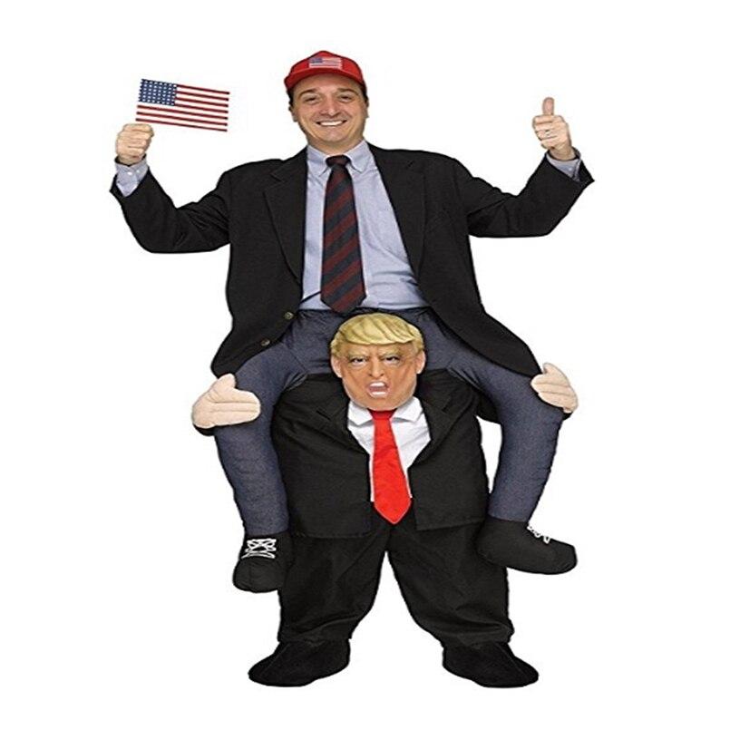 Donald Trump pantalon drôle Cosplay habiller monter sur moi mascotte Costumes de fête porter de retour nouveauté jouets Halloween fête jouets de plein air - 4