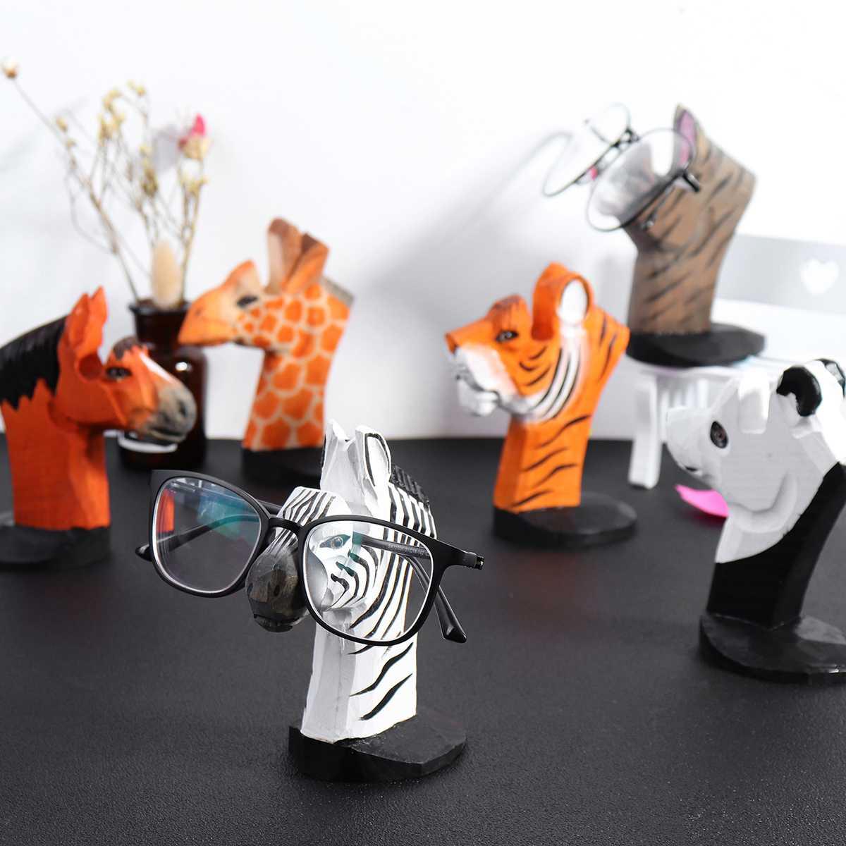 NEW 4 PAIR NATURAL WOODEN SUNGLASS DISPLAY RACK wood sunglasses holder