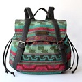 2016 Women Vintage Feminine Backpack Stripe Casual Bohemian Boho Tribal Hippie Retro Folk Gypsy Ethnic Bag For Teenage Girls