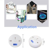 Home Safety CO Kohlenmonoxid Rauch Vergiftung Gas Sensor Hohe Empfindlichkeit Warnung Alarm Detector Küche-in Kohlenmonoxid-Detektoren aus Sicherheit und Schutz bei