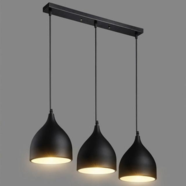 LukLoy Modern Pendant Ceiling Lamps Dining Table Lustre Pendant Lights Loft Lamp Hanglamp Nordic Hanging Kitchen Light Fixture