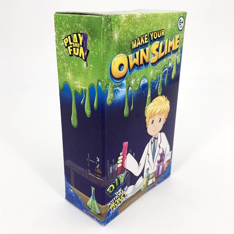 Slime Kit Make Your Own for Kids Gloop Sensory Play Science DIY Toy Game Funny Slime Fluffy slime Toys Science DIY Toy Game