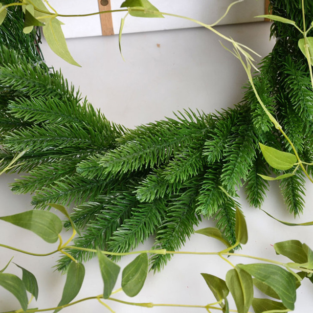 DIY Artificial Plants Pine Branches Christmas Tree Accessories  4