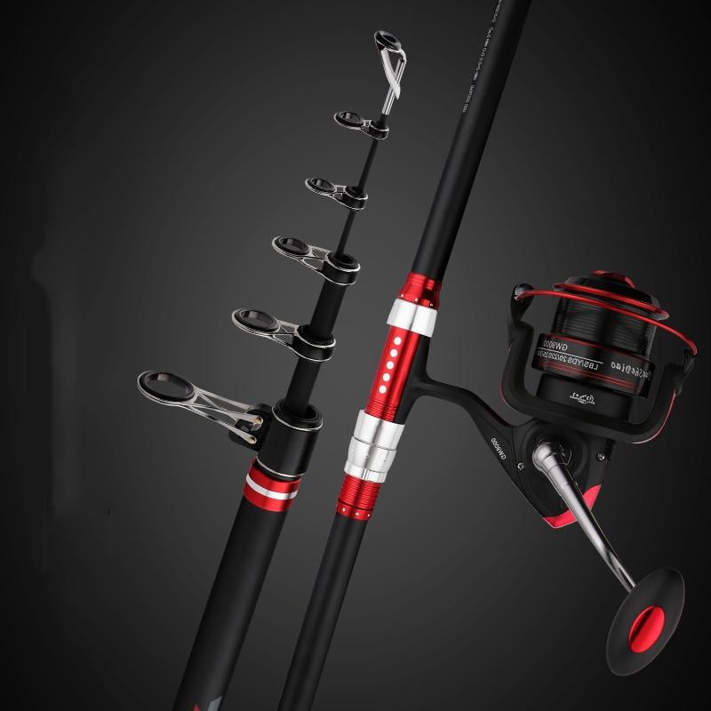 3.6 m 3.9 m 4.2 m 4.5 mVenus superhard longue tige de pêche à haute teneur en carbone canne à pêche télescopique pôles de pêche poisson de mer