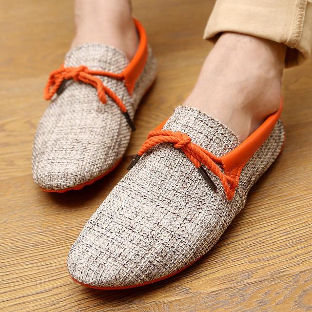 Men shoes breathable fashion weaving Woven