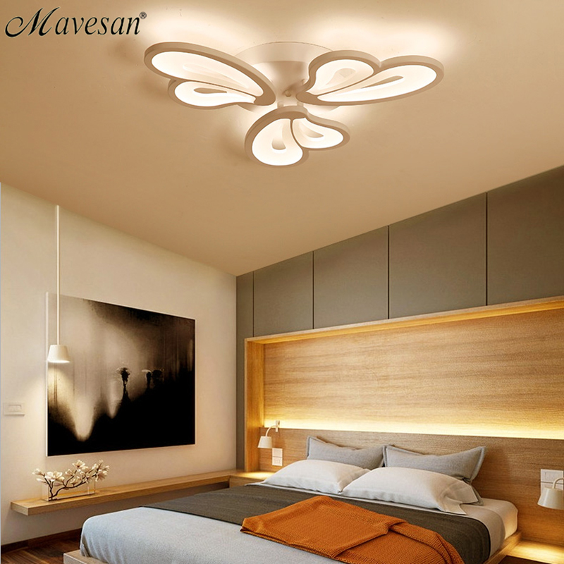 2018 Living Room acrylic Ceiling Lights Living Room for kids room Ultrathin ceiling lamp Decorative lampshade Lamparas de techo