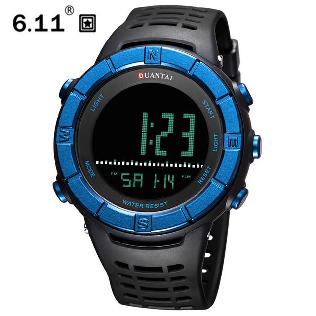 6.11 DUANTAI Men's Watch LED Waterproof