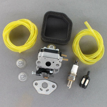 Convenient Carburetor Tune Up Kit For 17in 29cc Troy Bilt TB525EC TB575EC Gas Trimmer Home Garden Supplies
