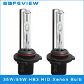 2pcs/lot 35W 55w DC 12V Xenon HID HB3 3000K 4300K 5000k 6000K 8000K 10000K 12000K 15000K  Auto Lamp Bulb Headlights Single beam