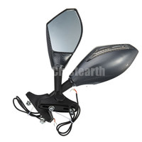 Carbon LED Integrated Turn Signal Mirrors for Honda CBR 600RR CBR600RR CBR 600 RR 2003 2010 CBR1000RR CBR 1000RR 04 05 06 07
