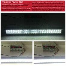 weketory 22 inch 240W 4D 5D LED Work Light Bar for Tractor Boat OffRoad 4WD 4×4 Truck SUV ATV Spot Flood Combo Beam 12V 24v