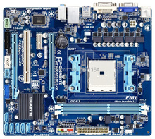 Free shipping motherboards for Gigabyte GA-A75M-S2V all solid FM1 A75 motherboard DDR3 16G