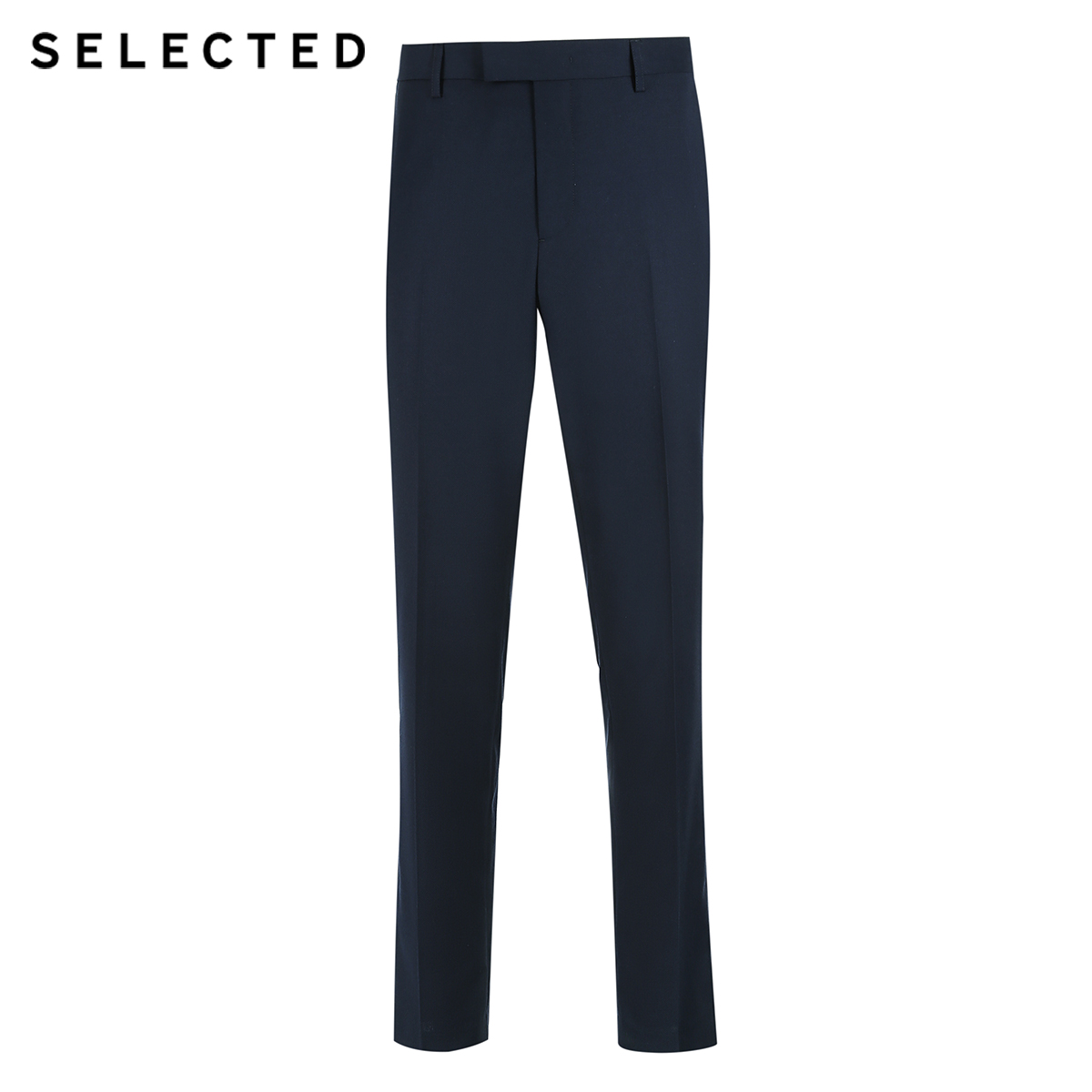 SELECTED new men's simple solid color business series regular fit pants T|41836A509