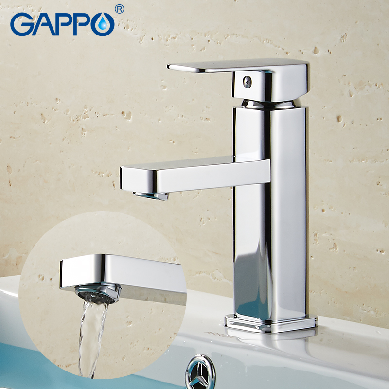 GAPPO Basin Faucets waterfall bathroom faucet basin mixer sink faucet mixer tap water taps bathroom griferia цены