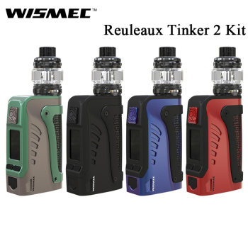 Original Wismec Reuleaux Tinker2 Kit Mod Box Vape 200W With Trough Tank 6.5ml Fit WT Coil IP67 waterproof Reuleaux Tinker 2
