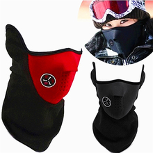 Outdoor windproof Cool ride bike mask Warm Dustproof anti fog half face mask skiing care motorcycle sport mask free shipping  kids safe full face mask snorkeling scuba watersport underwater diving swimming snorkel anti fog full face children diving mask