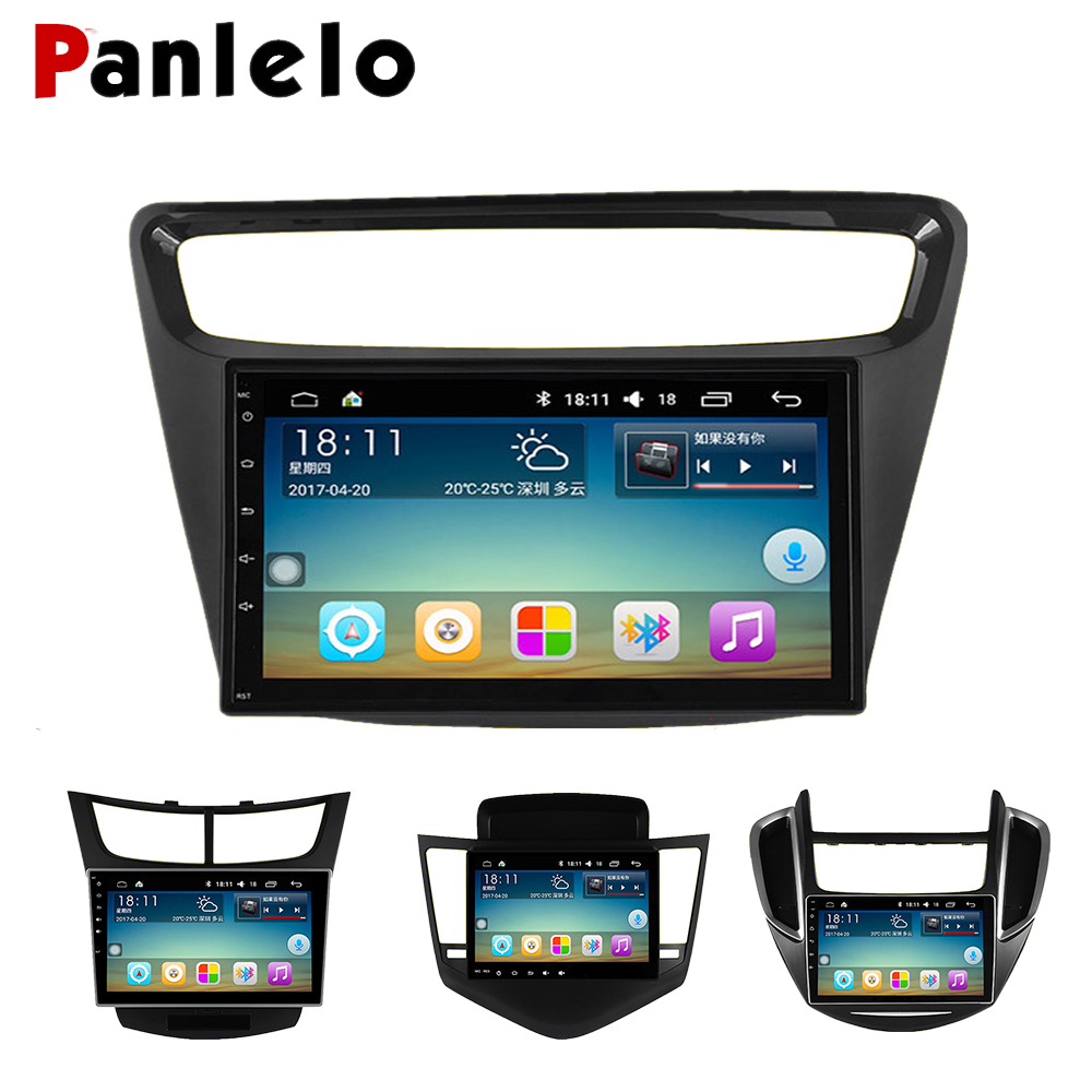 Panlelo For Chevrolet Sail radio For chevrolet cruze multimedia 2 din Android Quad Core Touch Screen Build in Bluetooth GPS