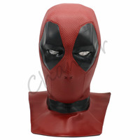 2018 Deadpool 2 Mask Soft PVC Helmet Cosplay Props for Adult