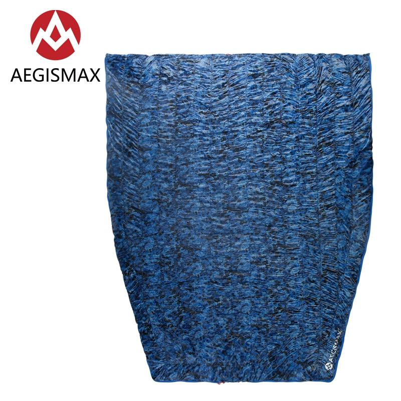 Здесь можно купить  AEGISMAX Micro Micro2 95% White Duck Down Sleeping Bag Outdoor Camping Camouflage Thermal 700FP Splicable Envelope Sleeping Bag  Спорт и развлечения