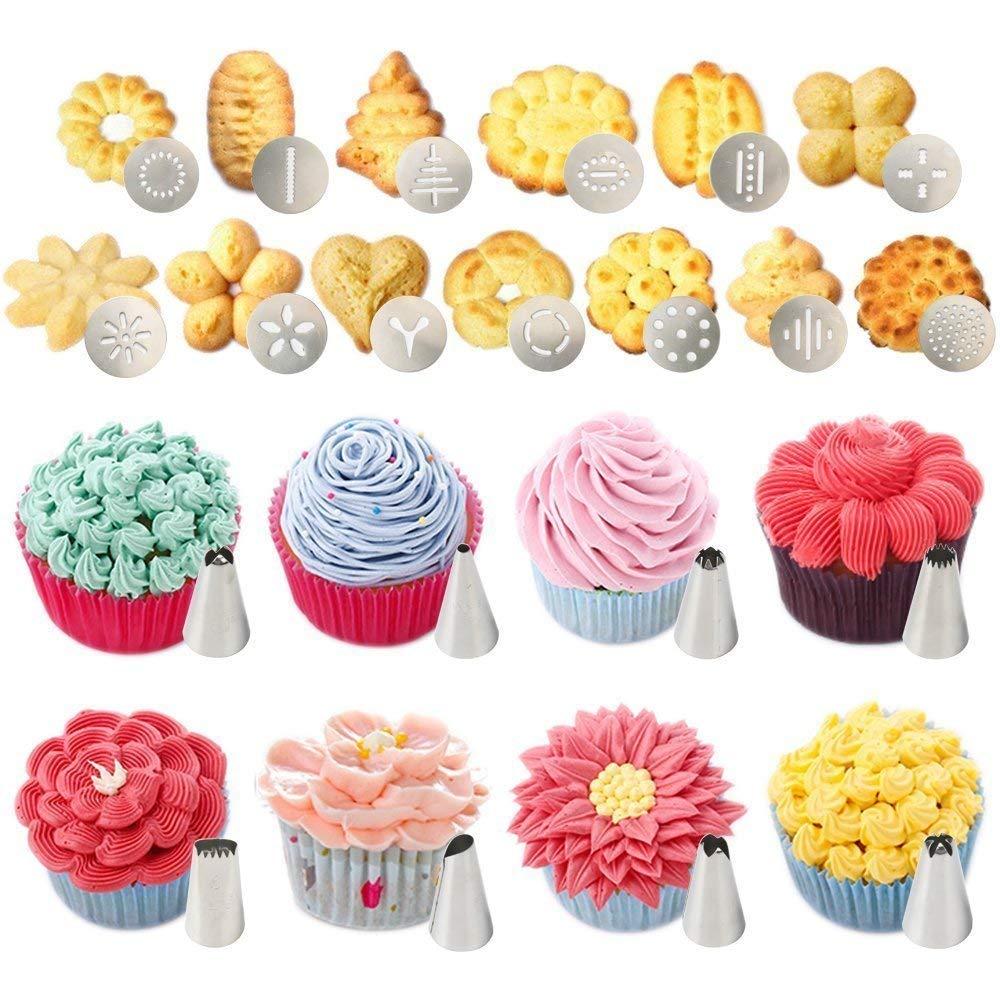 Машина для изготовления печенья, машина для изготовления печенья, пресс-формы для украшения торта, кондитерский мешок, набор для насадок дл...