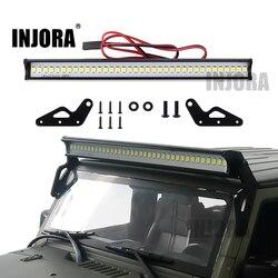 INJORA Super Bright 36LED 150MM Lights Bar for 1/10 RC Crawler Car Axial SCX10 90046 Jeep Wrangler Body