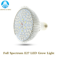 E27 78W AC85-265V 110V 220V 78SMD 5730 Led Grow Light Full Spectrum Led Plant Lamp Indoor Greenhouse Hydroponics Grow Box