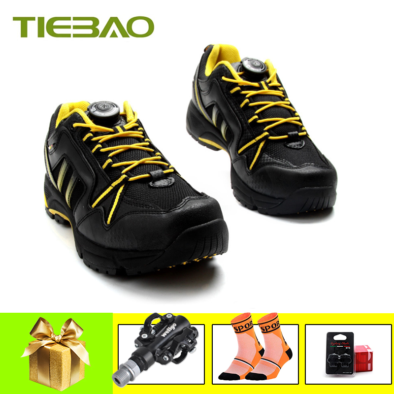 TIEBAO High Quality 2019 Cycling Shoes men women Non-slip Mountain Bike Shoes MTB spd pedals Breathable Athletic Bicycle ShoesTIEBAO High Quality 2019 Cycling Shoes men women Non-slip Mountain Bike Shoes MTB spd pedals Breathable Athletic Bicycle Shoes