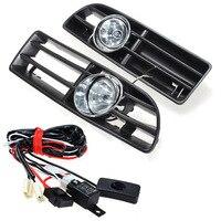 High Quality Fog Lights Grille For JETTA BORA MK4 TDI 1999 2004 Switch Wiring Harness Car