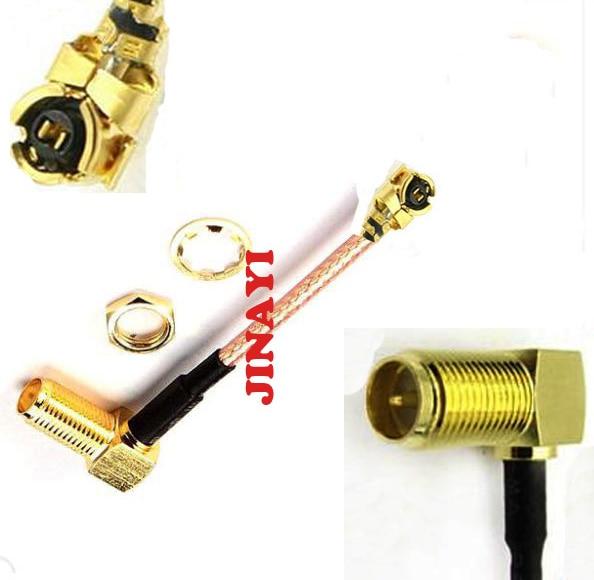 10 pcs RP-SMA RG178 Cabo de Extensão Ângulo Direito RP SMA Fêmea para IPX U. fl Conector IPEX 5 cm 10 cm 15 cm