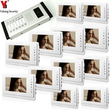 Yobang Security Wired 7 LCD Monitor Control Entry font b Waterproof b font Video Door font