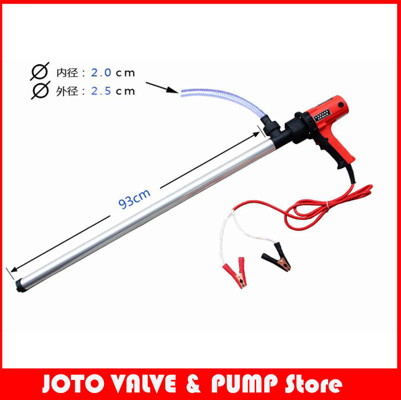 D69 100L/min 12V/24V Electric Hand Barrel Pump 380W Six-speed Vertical Oil Pump цена и фото