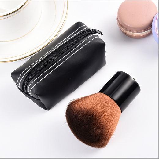 Гриб кисти для макияжа одной базовой кисти щеки красные кисти мучнистой нижней