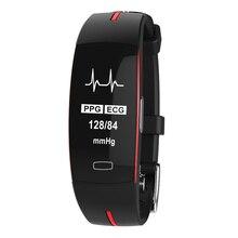 Pressão arterial e Freqüência Cardíaca À Prova D' Água Do Bluetooth Inteligente Pulseira Esporte com Miband/Fibit Smartwatch Amazfit Eletronic Relógio de Saúde
