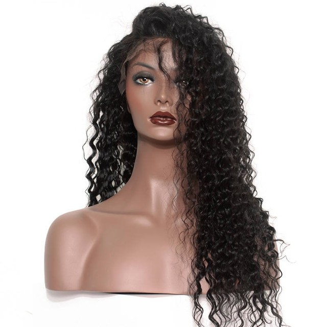 Loose Curly 250% Density Lace Front Human Hair Wigs For Black Women Brazilian Lace Front Wigs Front Lace Wig Non-remy