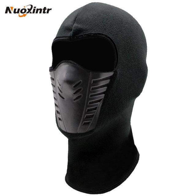 Winter Warm Motorcycle Windproof Face Mask Motocross Face masked Cs Mask Outdoor Sport Warm Bicycle Thermal Fleece Balaclavas