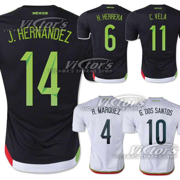 sports shoes 08211 03149 Mexico Jersey 2015 2016 National Team Soccer Jersey Copa ...