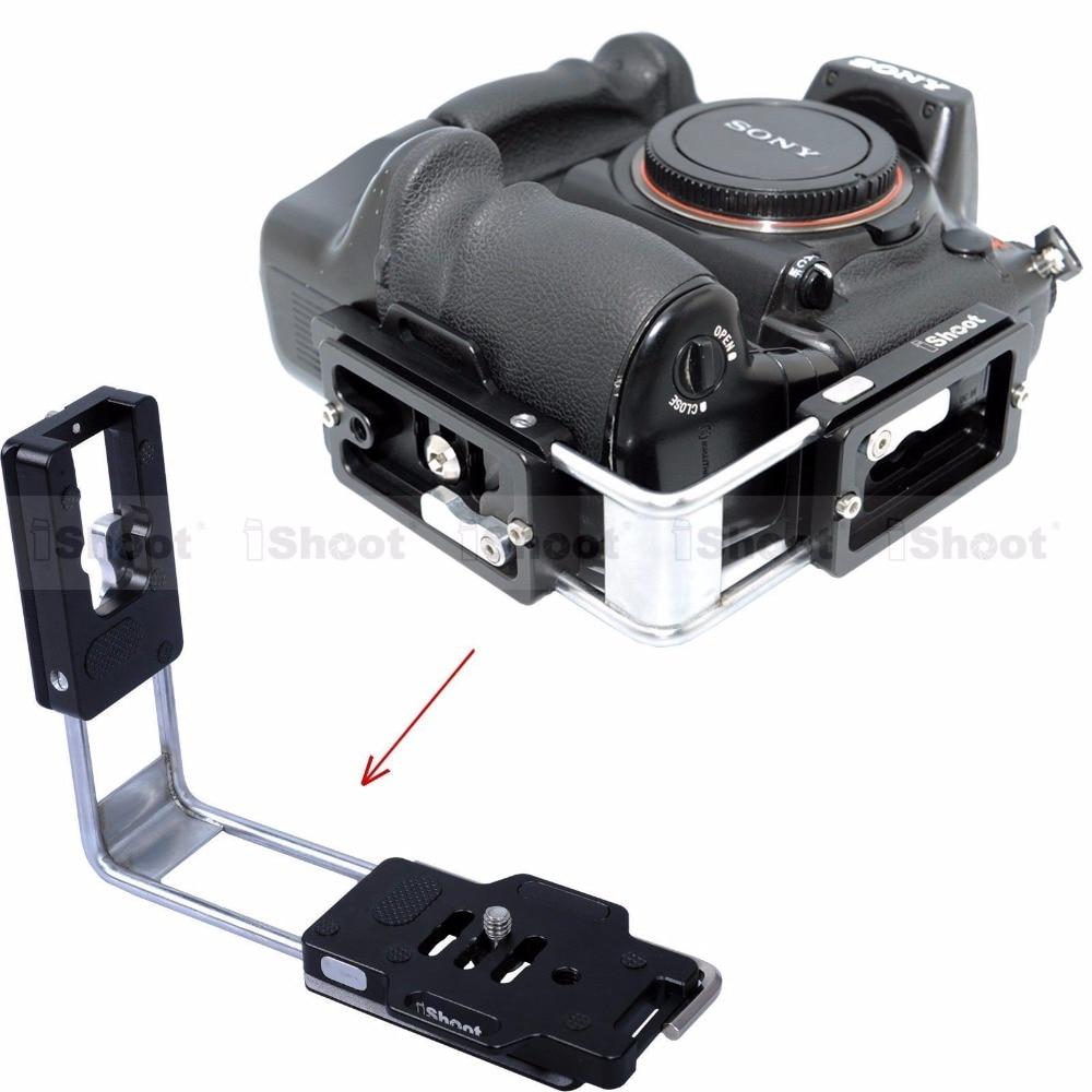 Universa Quick Release L Plate Bracket Grip Vertical Shoot L Bracket for Sony a99/a77/a65/a58/a57/a55/a37/a35/a33/a900/a330/a350 new lcd flex cable for sony slt a57 slt a65 slt a77 slt a99 a57 a67 a77 a99 digital camera repair part