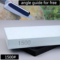 1ピース1500 #プロフェッショナルナイフ削り砥石ホーニング刃研ぎナイフ石のキッチンツール角度ガイド用を