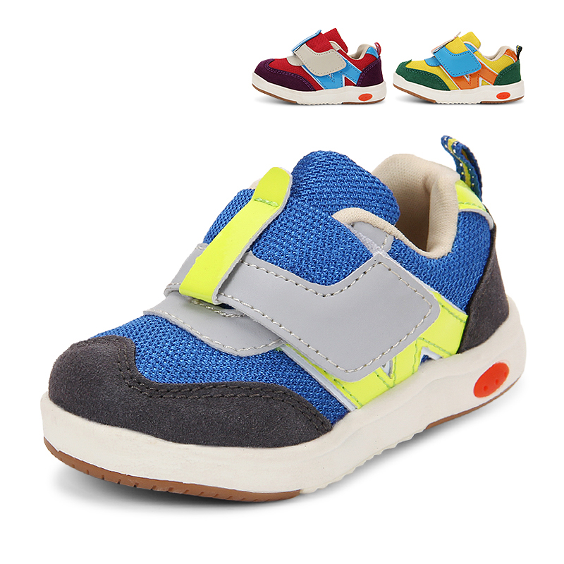 2016 Hot Sell Fashion Comfortable Baby Small Children Unisex Shoes Kid Sport Breathable Walking Sport Tank Shoes For Kids
