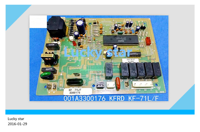 95% new for Haier Air conditioning computer board circuit board KFRD KF-71L/F 001A3300176 good working 95% new good working for air conditioning computer board kfrd 50lw f kfrd 50lw f 0600240 control board