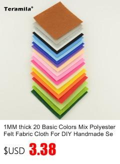 L/'autisme cœur toile imprimée tissu Cheveux Nœud Making Fabric Material