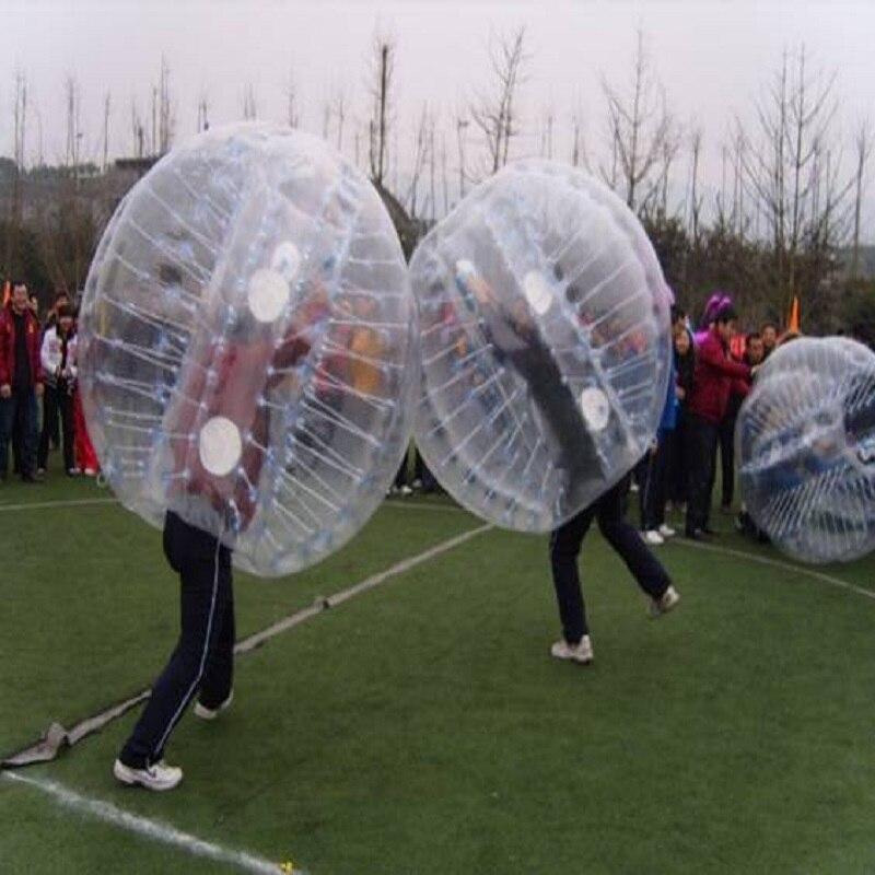 Boule pare chocs 1 M (3.28 pieds) de diamètre, boule à bulles, utilisation pour jouer au football, jeu de plein air pour enfants, jouets de plein air - 5
