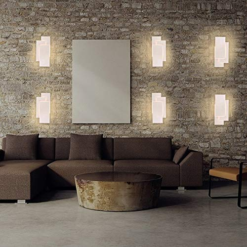 interior lâmpada de parede montada alumínio decorar