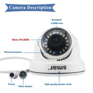 Image 4 - Smar Super 5MP AHDกล้อง18Pcs Nano IR LED 2560(H)* 1920(V) IR CUT Filter Day & Nightการเฝ้าระวังการรักษาความปลอดภัยหน้าแรกที่ดีที่สุดราคา