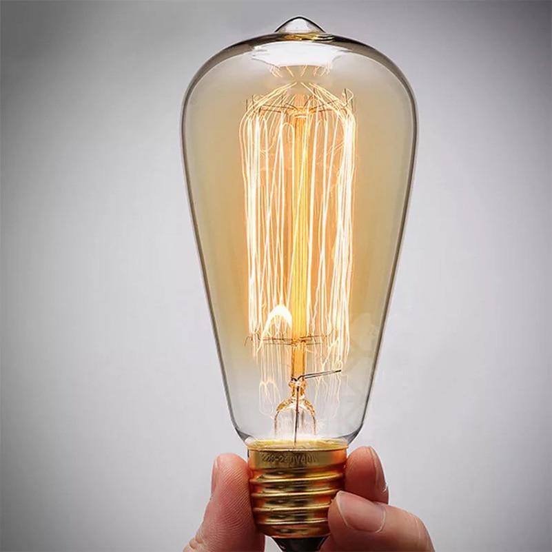 Buy B22 110v 220v 40w Candle Vintage Edison Filament: Aliexpress.com : Buy Vintage Edison Light Bulbs Tungsten